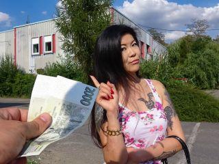 Akasha Coliun Hot Asian Chick Loves Girthy Cock