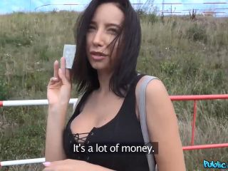 Lola Bulgari Tourist Gets Multiple Orgasms in Car