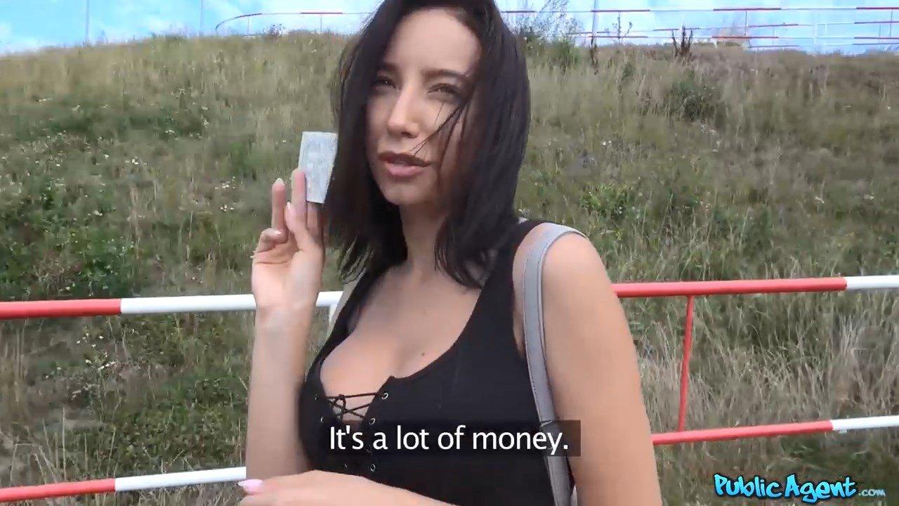 Sexy Public Tourist Agent Public Agent